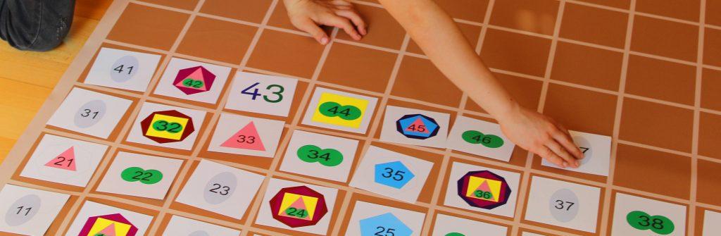 Montessori Hundertertafel